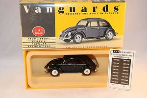 Vanguards-Corgi-VA12001-Black-Beetle-1-43-mint-in-box