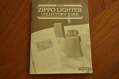 """The Zippo Lighter Collectors' Guide"" Booklet, with Codes & Dates Thru 1990 M399"