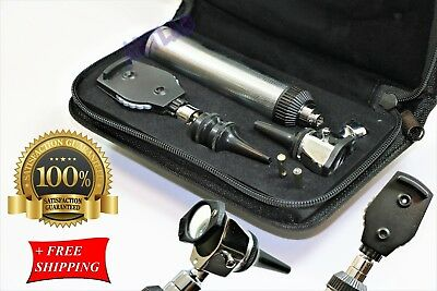 Ent Diagnostic Otoscope Ophthalmoscope Extra Specula 2 Free Extra Bulbs