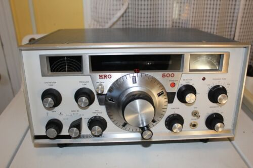 NATIONAL HRO-500 RECEIVER NICE WORKING