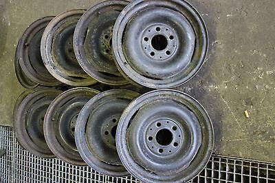 Mercedes Benz Vintage Car W114 W115 W123 Rim 5.5x14 Steel Rim 1154001302