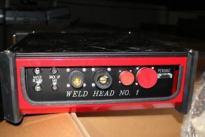 New Arc Machines Ami Switching M227-dx Dual Weld Head 227m3e0110a-00