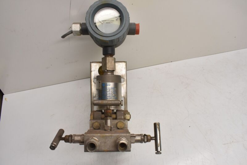Gould PD3000-400 Pressure Flow Transmitter w/ Anderson Greenwood M4TVS Manifold