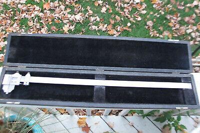 Starrett No.122 24 Inside Outside Vernier Caliper- Original Case