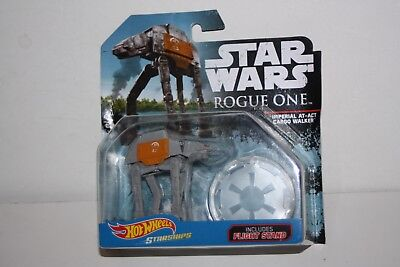 Hot Wheels Star Ships - Star Wars Rogue One - Imperial AT-ACT Cargo Walker - New