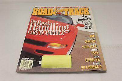 ROAD & TRACK: THE BEST HANDLING CARS IN AMERICA (OAK9677-1 [BOX T]