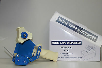 Uline H150 Industrial Side Load Handheld Tape Dispenser With 2 Free Tape Rolls