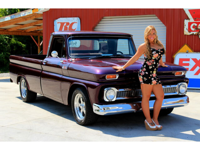 1965 Chevy C10 Pick Up 383 Ac Ps Pdb 4 Speed 12 Bolt Air Condition Power Disc Used Chevrolet C