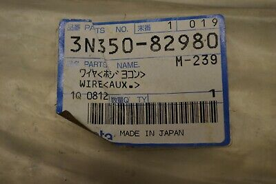 Kubota 3n350-82980 Wire Control Valve Oem Part New