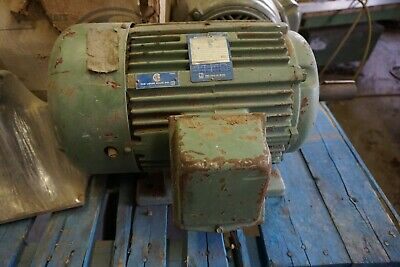 The Louis Allis Co. Pacemaker 20 Hp Motor 3 Phase 3525 Rpm 256 T Frame