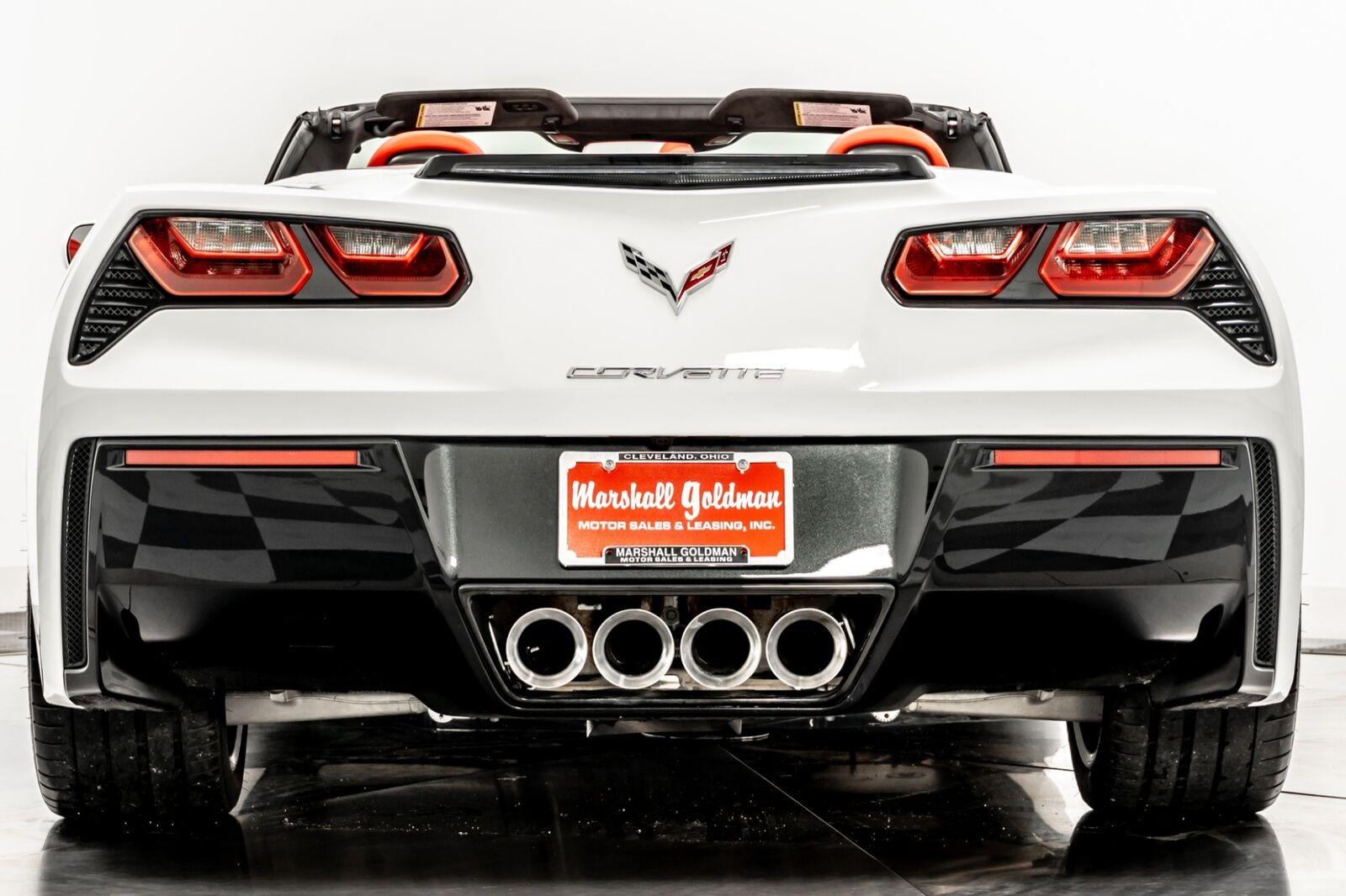 2015 White Chevrolet Corvette Convertible 3LT   C7 Corvette Photo 7