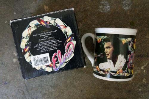 Elvis Presley American Eagle Ceramic Mug - 1991 - MIB