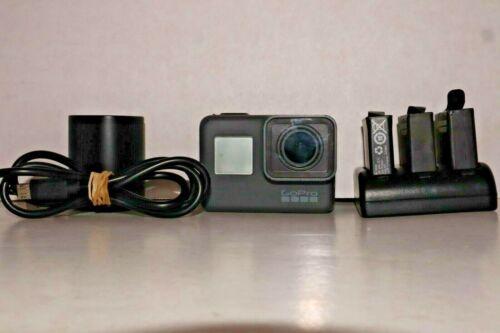 GoPro Hero 5 Black Ultra HD 4K Action Camera w/ Extra Batteries