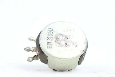 Vintage Mallory 50 Ohm Linear Taper Potentiometer Variable Resistor 341 0349