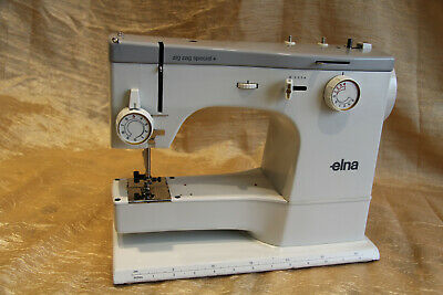 ELNA ZIG-ZAG SPECIAL Sewing machine Machine a coudre  parts / pieces NON TESTED, occasion d'occasion  Expédié en Belgium