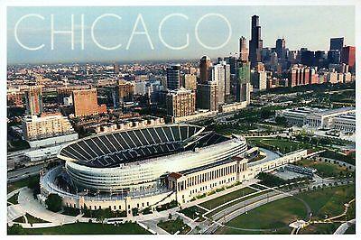 Soldier Field, Chicago Bears, Illinois, NFL Football Stadium --- Modern Postcard