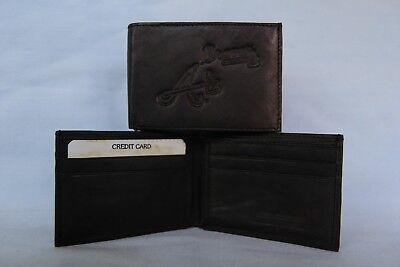 ATLANTA BRAVES   Leather BiFold Wallet   NEW  black 2 sb ()