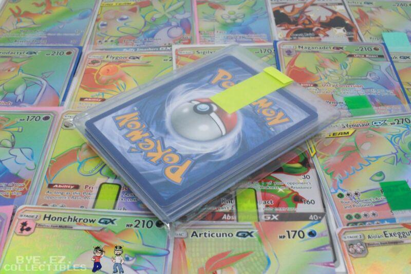 Pokemon 10 Card Lot Premium Holo Pack! Ex, Gx, Shiny, Charizard, 1st Edition!