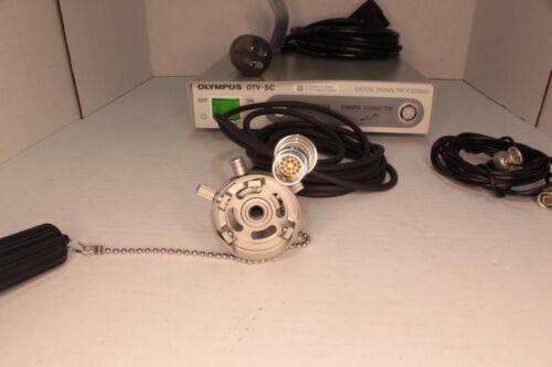 Olympus OTV-SC Digital Signal Processor, MAJ-554 Camera Head, AR-T10E Adapter