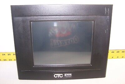 Parker Ctc Powerstation Monitor Touchscreen 20-36 Vdc Pm1-3a1-xd3