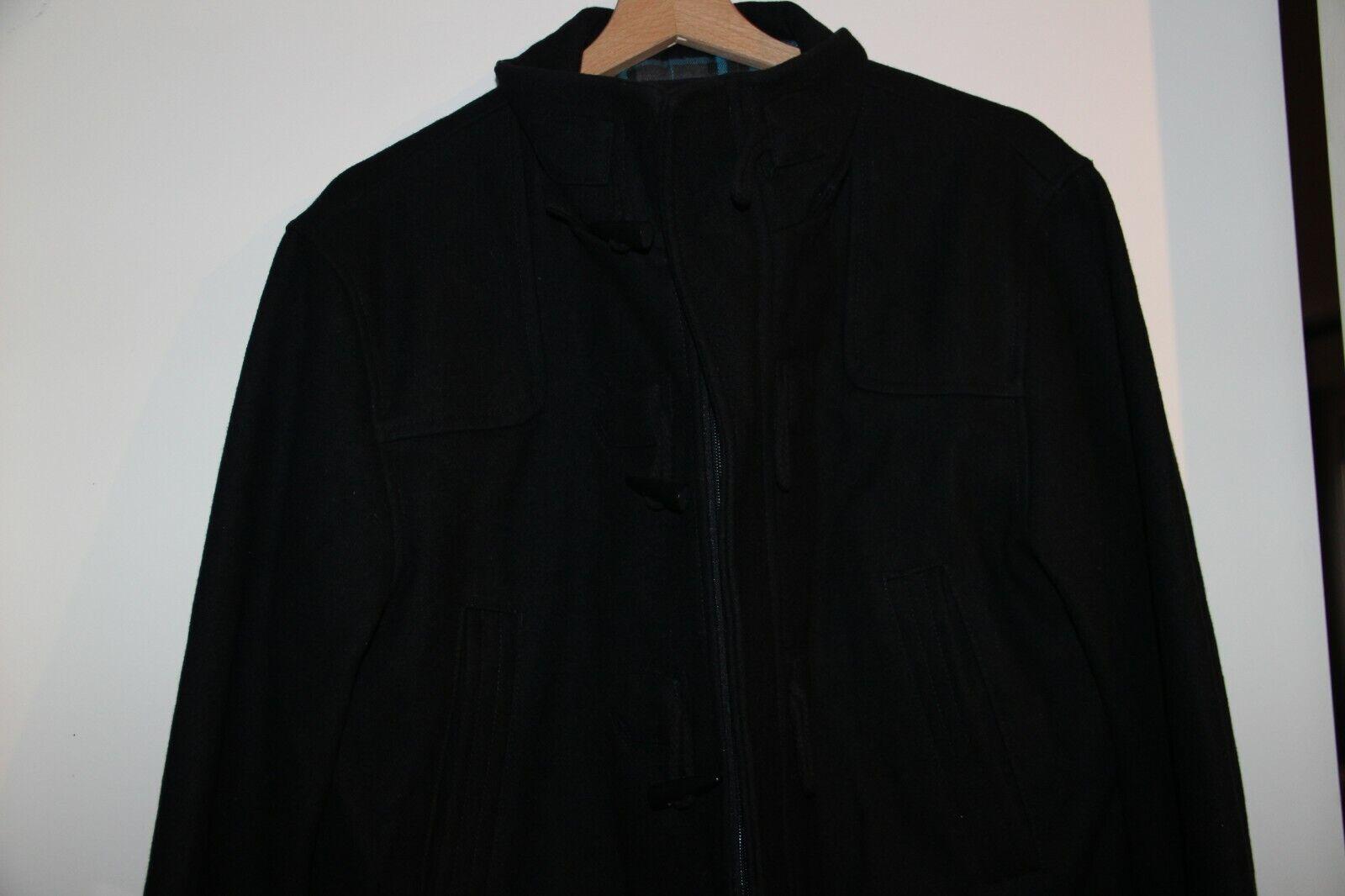 Duffle coat noir armand thiery