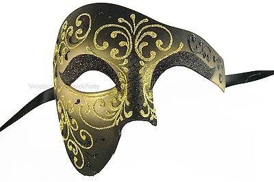 Gold Silver Men and Women Masquerade Ball Mask Halloween dress up Costume Party