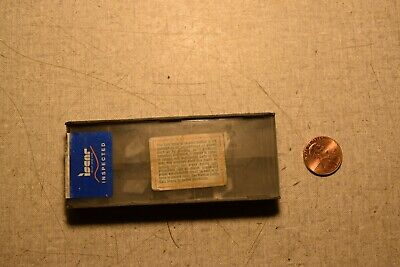 Iscar Gsfn 3.2 Ic328 Carbide Inserts Lot Of 9