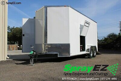 Fully Customizable Spray Foam Trailers Featured 8.5x20 Graco E-30 Proportioner