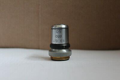 Lomo Microscope Objective Apo 60x 1.0 0.7 Iris Rms Apochromat