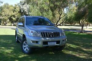 2006 TOYOTA PRADO VX 1GRJ120R(4X4) 4.0L AUTO 8 SEATER Welshpool Canning Area Preview