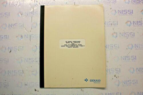 GOULD ELECTRONICS MODEL 13-6615-10A & MODEL 11-5407-70/71 USER