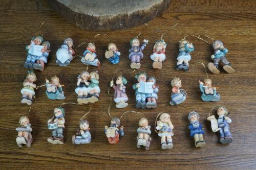 Lot of 23 Berta Hummel Goebel Christmas Ornaments w/ COA