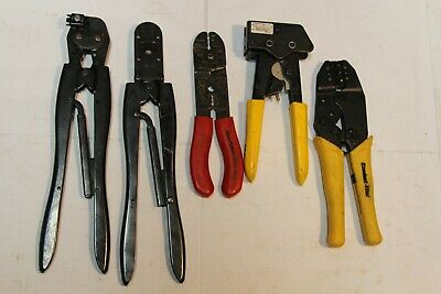 Thomasbetts Lrc Tyco Blue-point Tools Crimper Others Connectivity Tools 5pcs