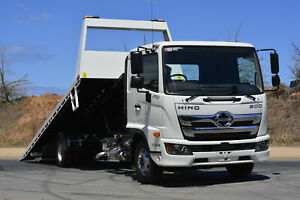 Hino FD 1124-500 Series FD 1124 MT AIR 5540 Tilt tray Regency Park Port Adelaide Area Preview