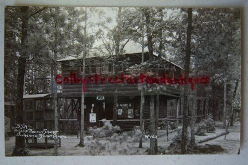 BSA at Camp Robert Stuart OWASIPPE SCOUT CAMPS Whitehall Michigan postcard RPPC