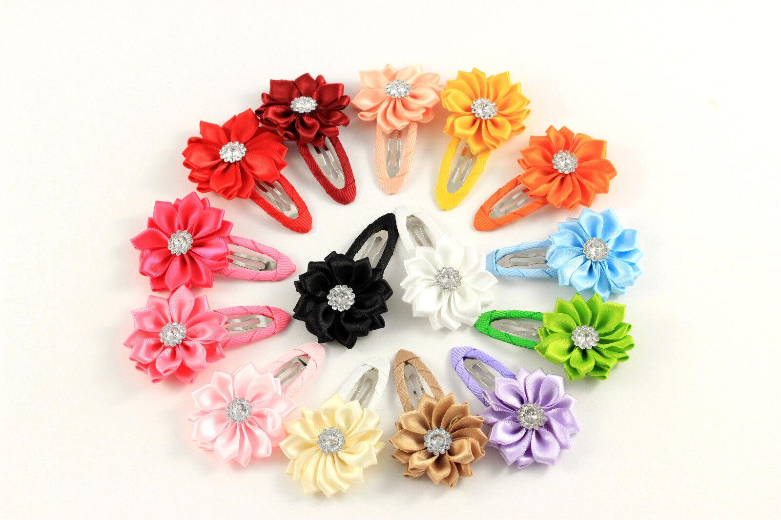 Haarspange Haarklammer Blume Blüte Kinder Mädchen Haarschmuck K364a