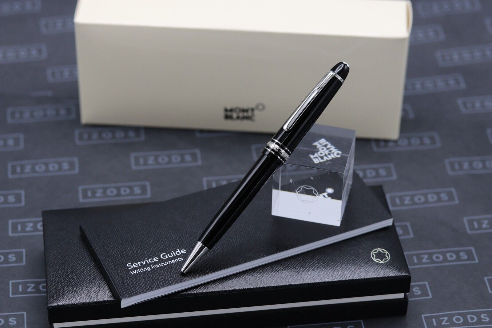 Montblanc Meisterstuck Midsize Platinum Ballpoint Pen - NEW March 2021