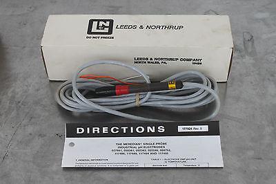 Leeds Northrup 050381-8644 Meredian Single Probe Industrial Ph Electrode New