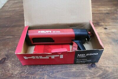Hilti Md 2500 2-part Adhesive Epoxy Dispenser Never Used In Original Box