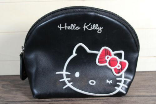 Hello Kitty Vinyl Clutch Cosmetic Bag