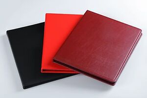 Banknote album, holds up to 60 notes. New design, come with slip case - Black