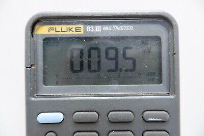Fluke 83iii Multimeter