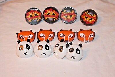 Kung Fu Panda Party Supplies (NEW   KUNG FU PANDA 12  CUPCAKE RING FAVORS PARTY SUPPLIES )