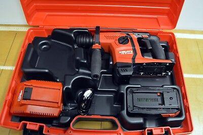 Hilti Te 6-a36 Avr Cordless 36v Hammer Drill Kit Breaker Brand New