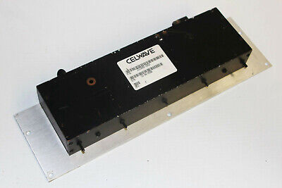 Celwave 1015892-0002 Radio Filter W Rack Mount Bracket - Microwave Transmitter
