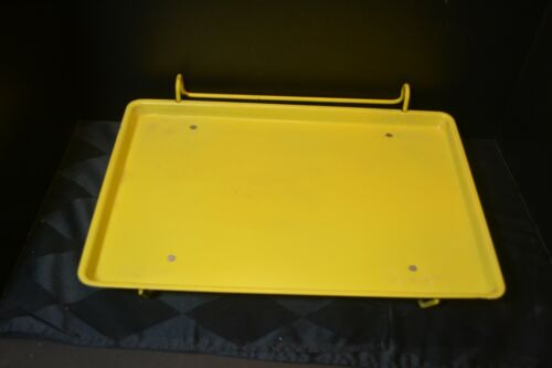 Vintage Car-Hop Drive-In Window Fast Food Tray 40s 50s Mid Century Modern YELLOW