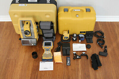 Topcon Ps-101a 1 Robotic Total Station Kit Fc-2600 Data Collector Rc-5 Magnet