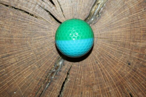 VINTAGE TEAL AND GREEN PING EYE 2 GOLF BALL MUST SEE!!!! RARE!!!!!