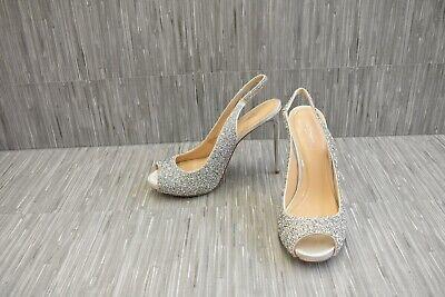 Imagine Vince Camuto Pavi Crystal Slingback Pumps, Women's Size 11M, Silver