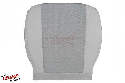 2011 Chevy Silverado 1500 2500 3500 -Driver Side Bottom Cloth Seat Cover Gray